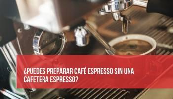 preparar cafe espresso