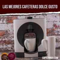 Las mejores cafeteras Dolce Gusto en 2021: opiniones, precios y modelos recomendados