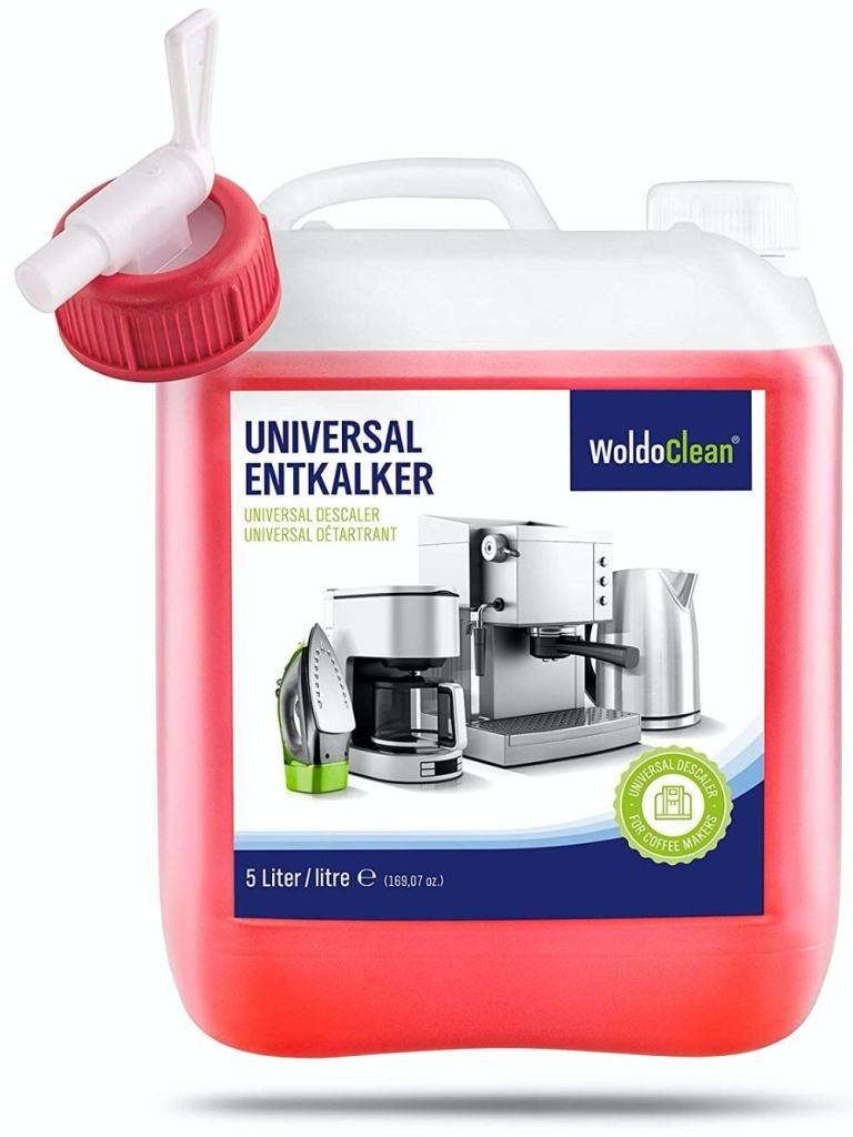 Descalcificador para cafetera concentrado liquido 5 litros de Woldoclean