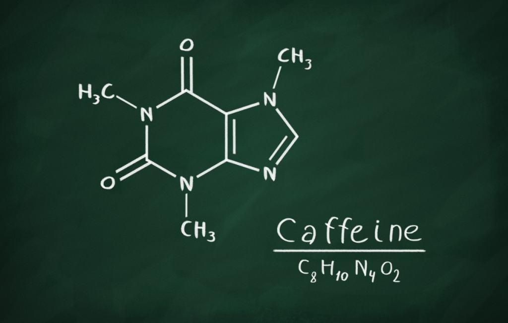 formula química cafeina