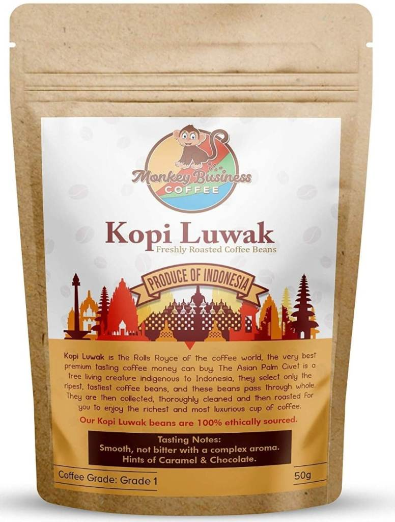 Monkey Business Coffee - Café Kopi Luwak