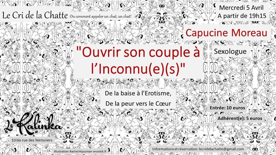 Conférence «Ouvrir son couple à l'Inconnu(e)(s)