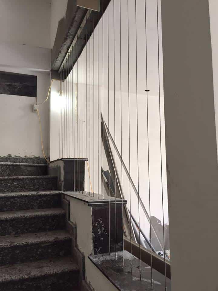 thi công cáp cầu thang hà nội