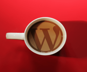 WordPress Consulting by Cap Web Solutions and a coffee