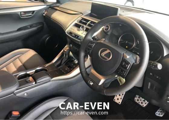 新型NX運転席
