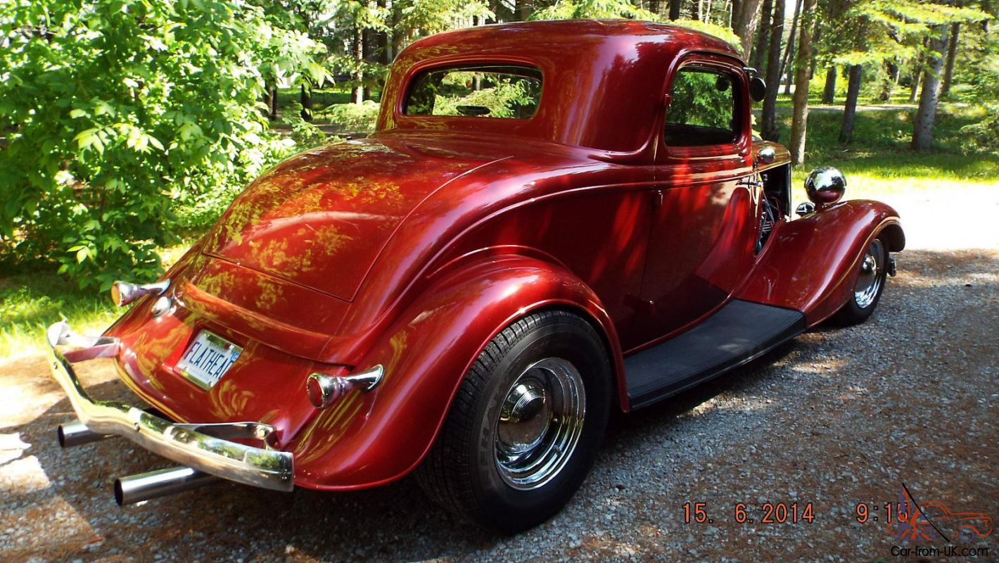 1934 Ford Coupe Rat Rod