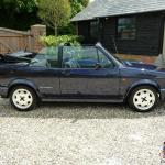 1993 Volkswagen Mk1 Golf Gti Rivage Karmann Cabriolet Ltd Edt Met Blue