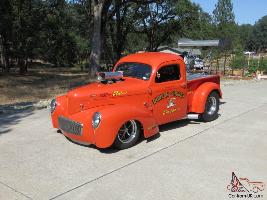 Fenders 1945 Rear Chevy Truck