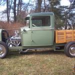 1931 Ford Model A Pickup Street Rod 351w C4 8 8 Posi Disc Brakes