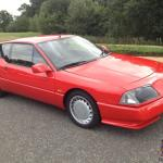 Renault Alpine Gta Turbo Aircon Model Full Leather For Sale