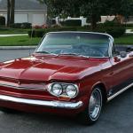 Famous Turbo Spyder Restored 1963 Chevrolet Corvair Monza Spyder Convertible