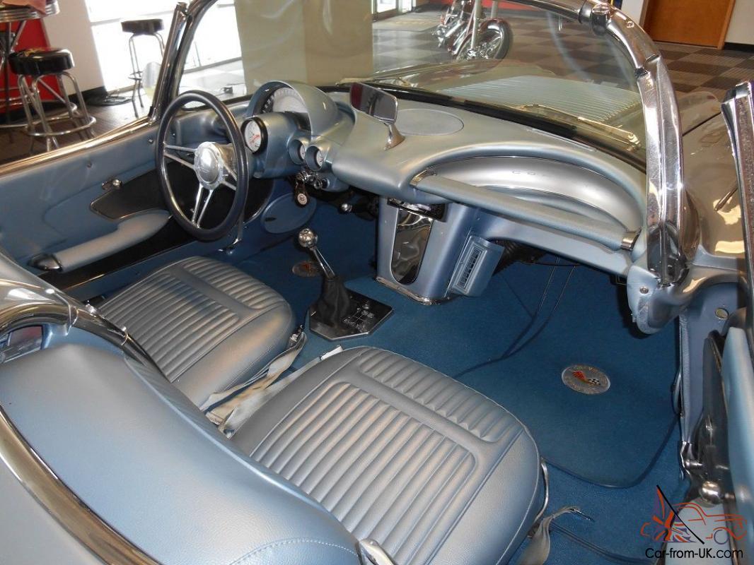 1958 Chevrolet Corvette Resto Mod Absolutely Stunning