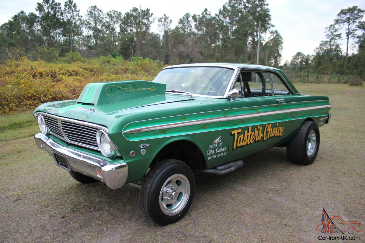 1965 Ford Falcon Gasser 389 Call NOW Same Owner 42 Years Race Car Museum
