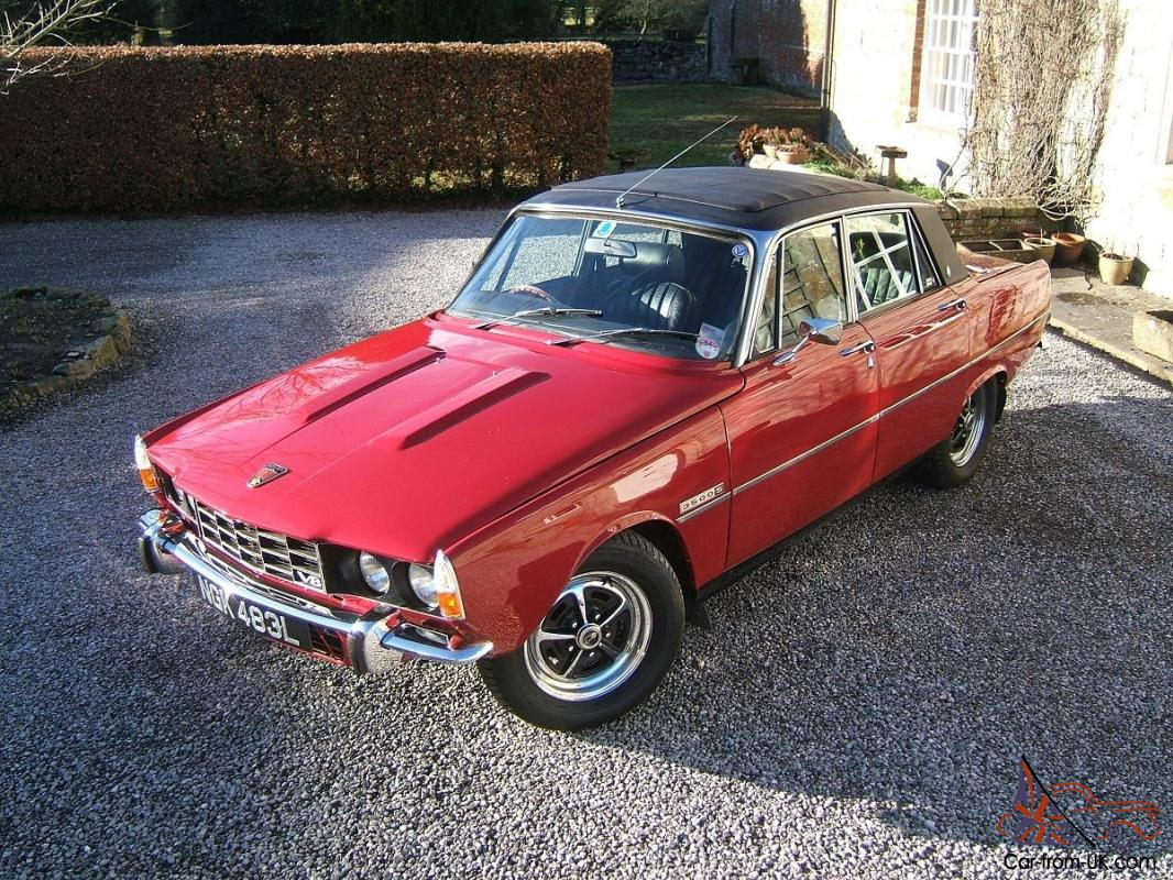 Image result for rover P6 red