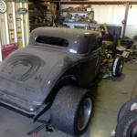 1934 Ford 3 Window Coupe Street Rod Fiberglass Kit Car