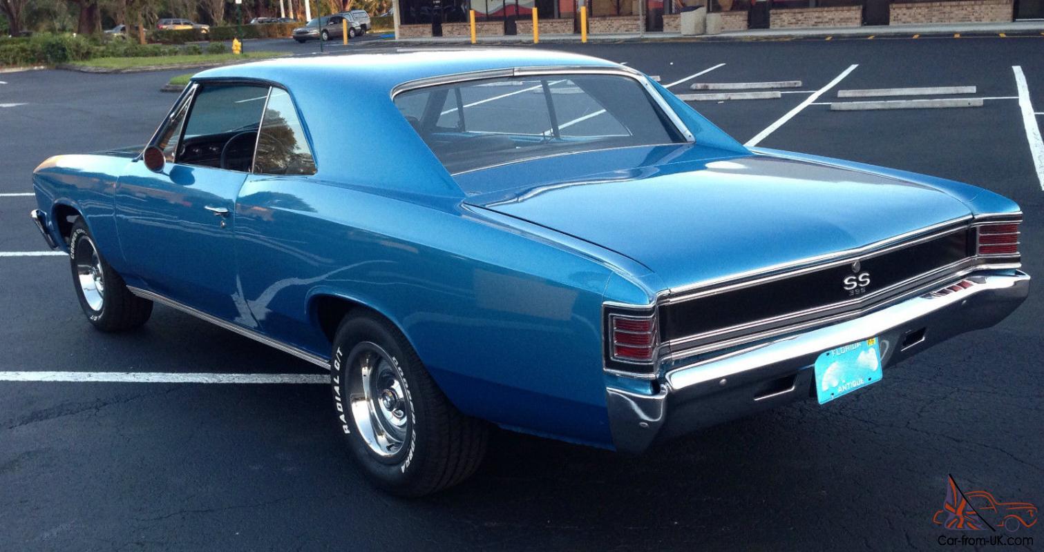 Blue Marina Chevelle 67 Ss