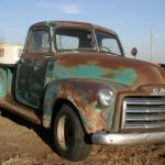 1949 Gmc 100 1 2 Ton Pickup Turck Long Bed Original Hot Rat Rod Project 48