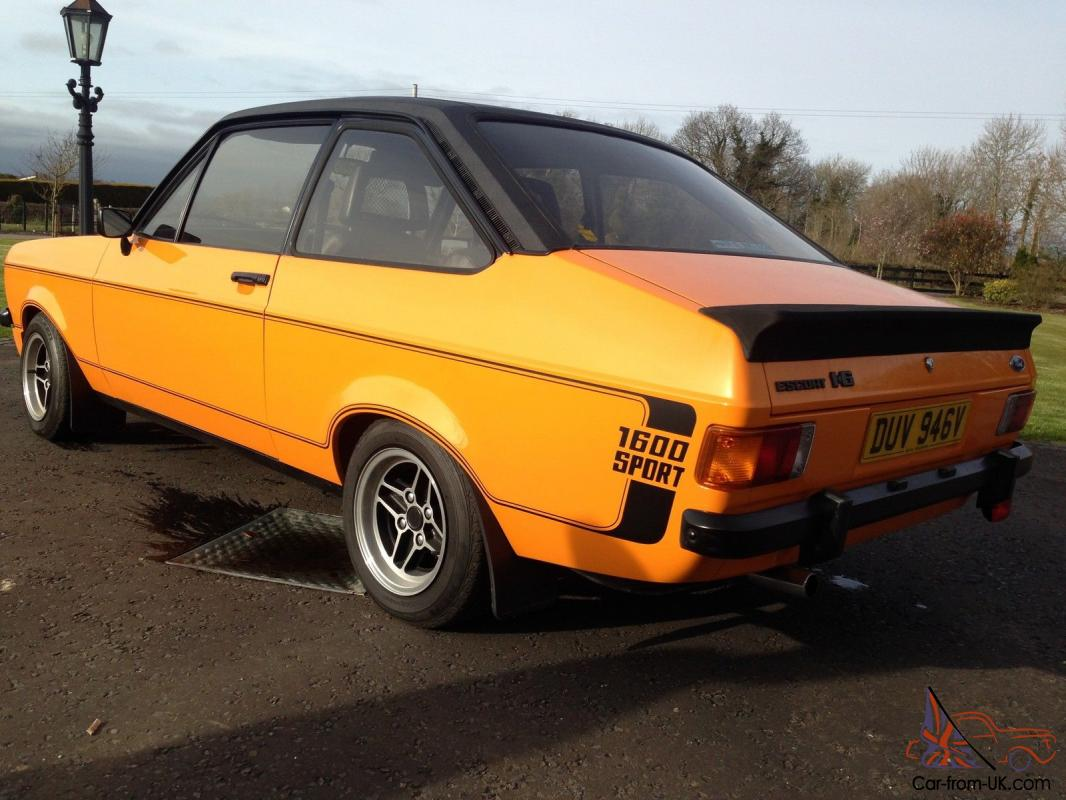 ford escort mk2 1600 could it be the best one you have ever