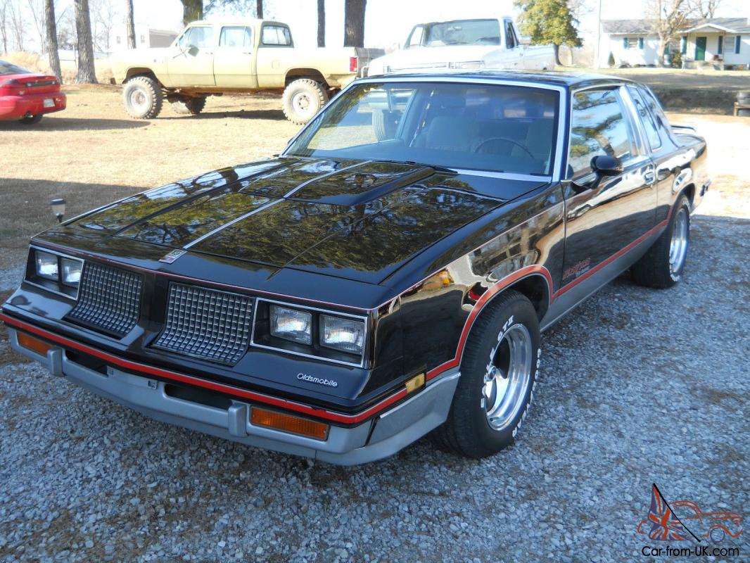 1983 Hurst Olds Cutlass Super Nice Fast Car Muscle Car Hot