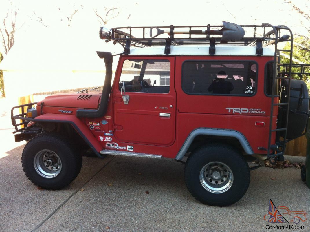 fj40 1976 fully restored 4wd red