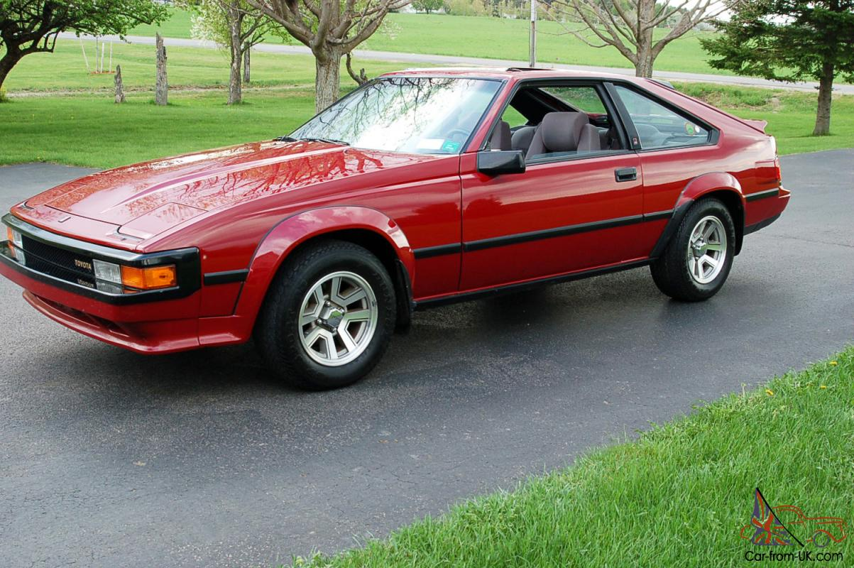 1985 Toyota Supra OnLy 42000 Miles MinT Cond