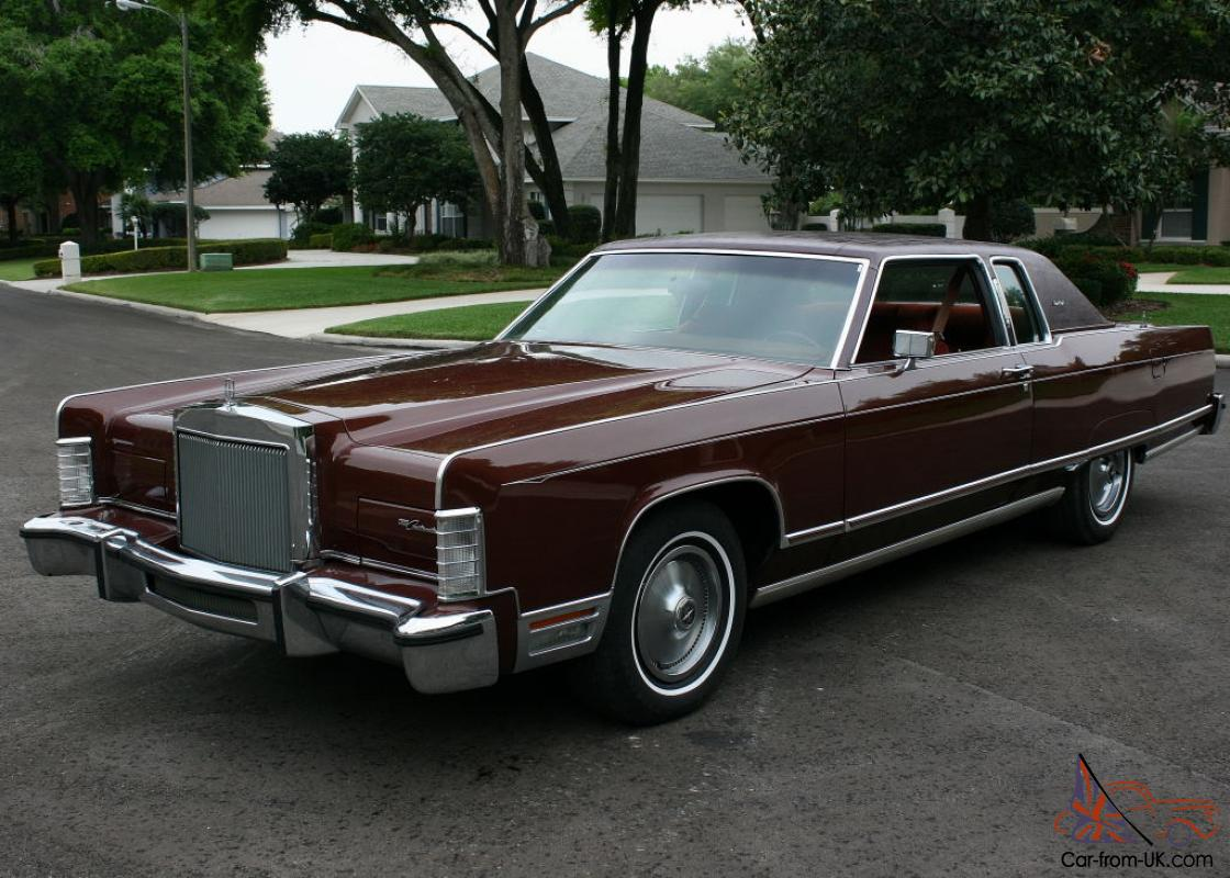 ONE OWNER LOW MILE SURVIVOR 1977 Lincoln Town Coupe 31K