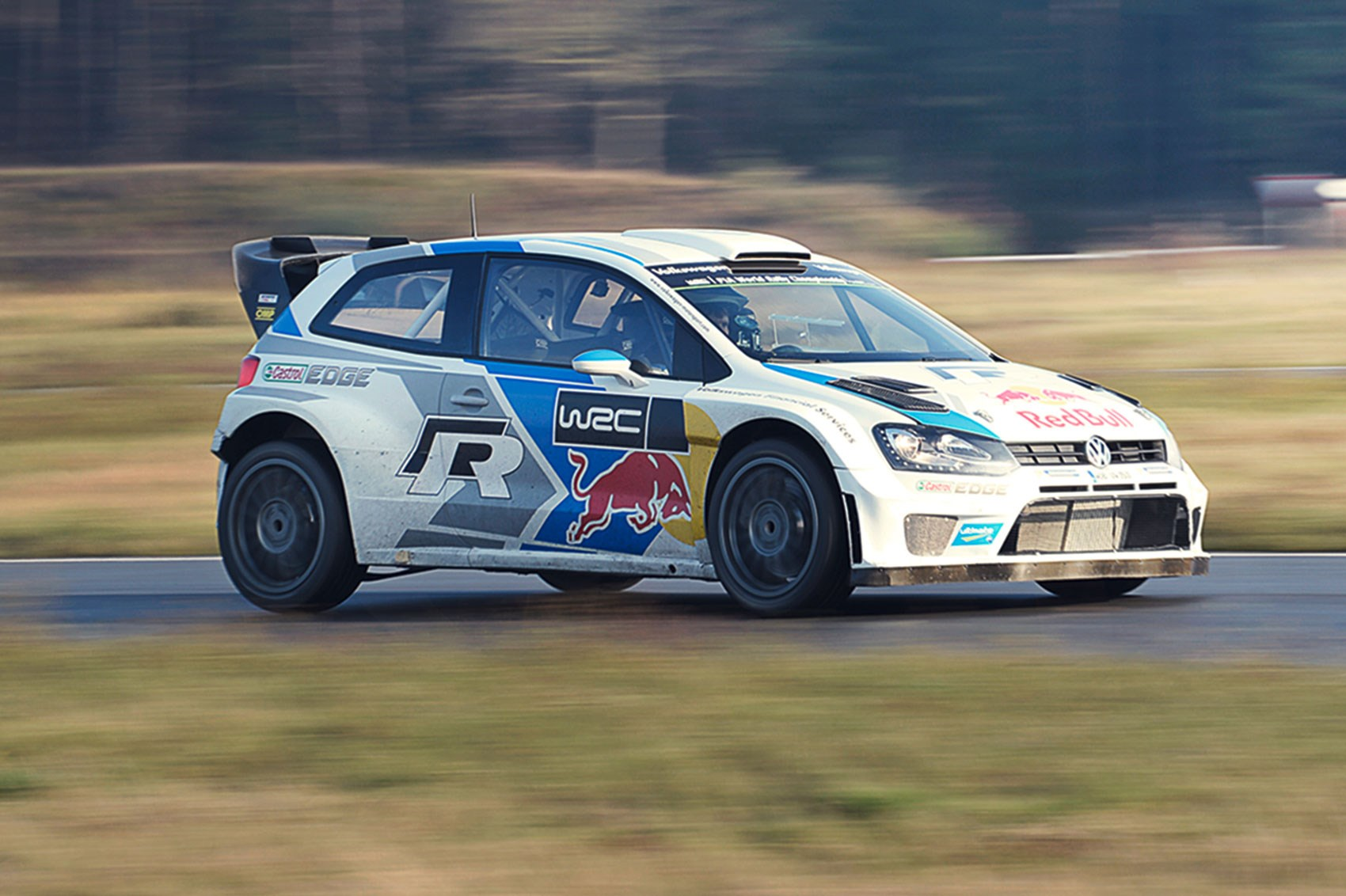Car Vs The World S Best Rally Car Driving The Vw Polo Wrc