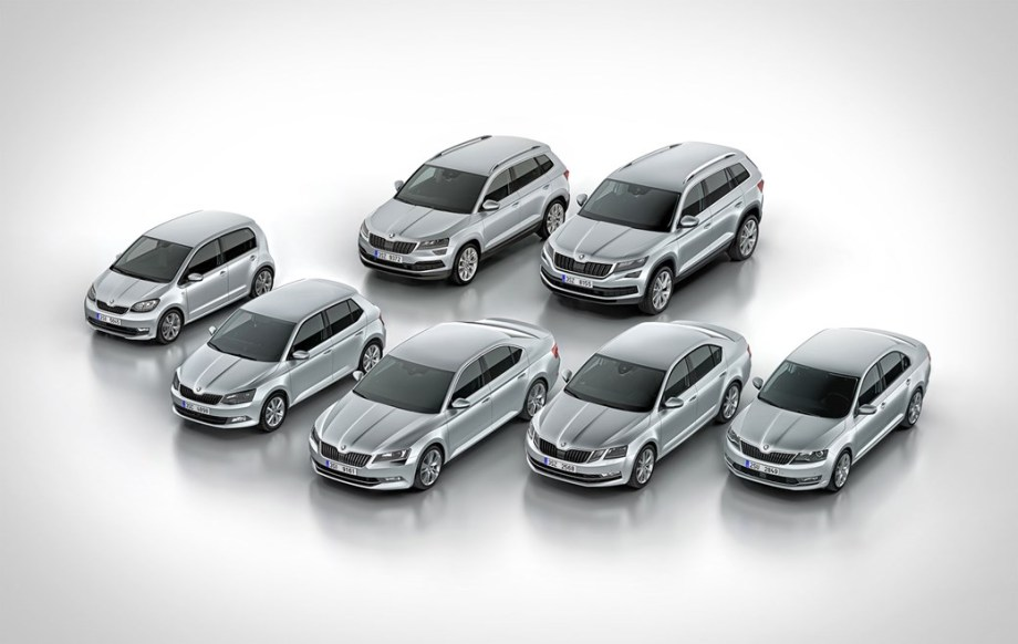 Ассортимент продукции Skoda в 2018-2020 г: больше моделей