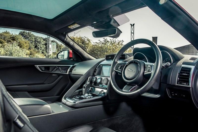 Jaguar F-Type P300 interior