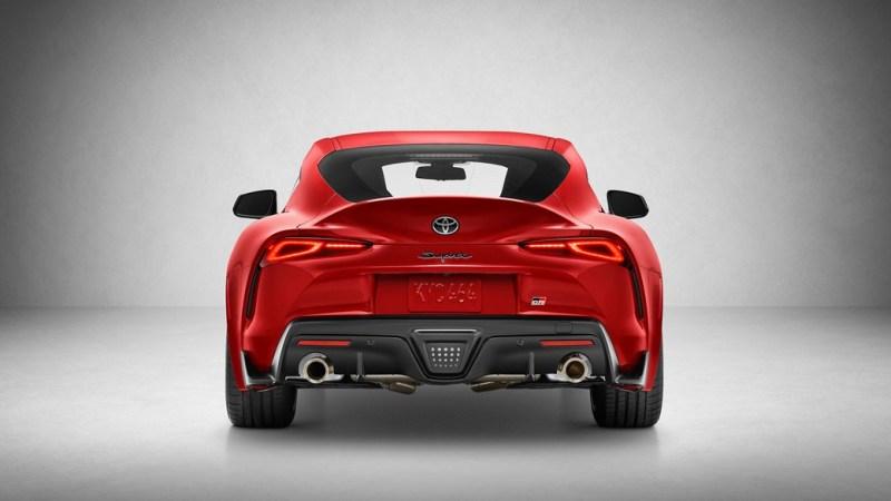 Toyota Supra rear end