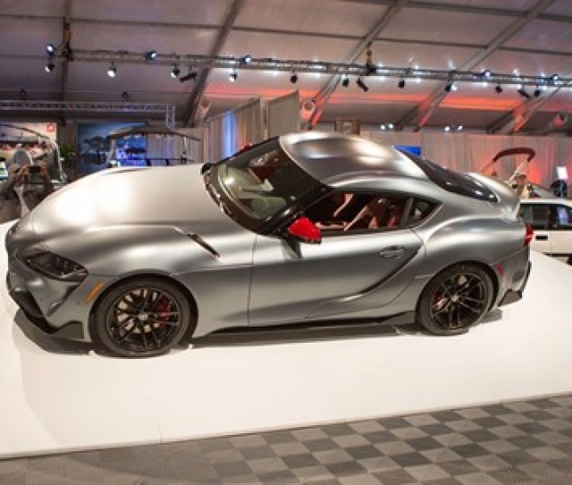 New Toyota Supra  First A Coupe Sells For  M