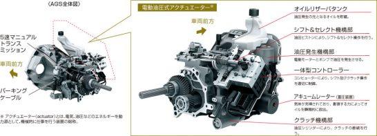 新型カプチーノ トランスミッション