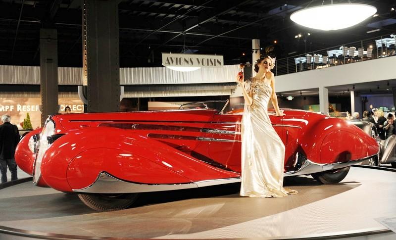 1939 Delahaye 165 V-12 Cabriolet at Mullin Auto Museum3
