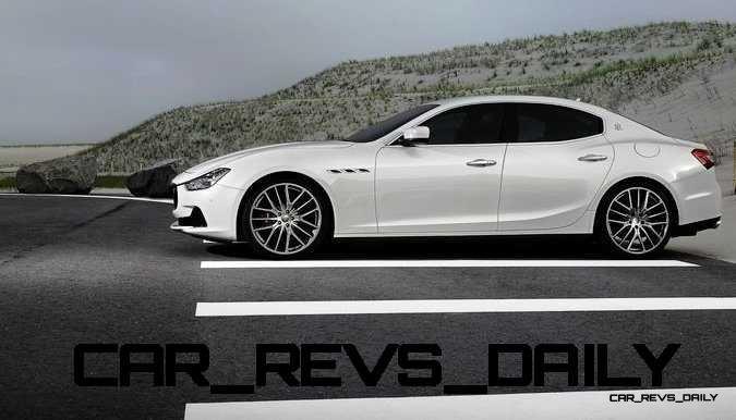 2014-Maserati-Ghibli-White-Side
