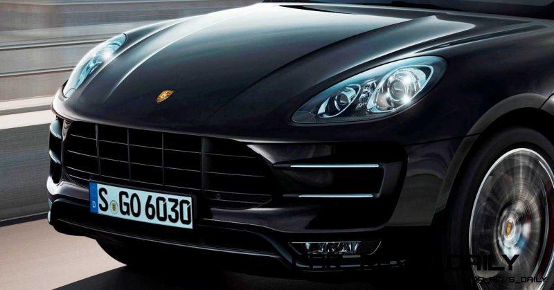 2014 Porsche Macan Turbo and Macan S - Official Debut Photos4