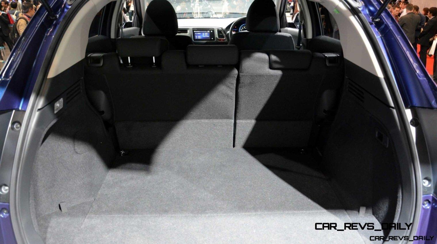 Cool! 2015 Honda Vezel Hybrid Previews Spring 2014 Civic CUV31