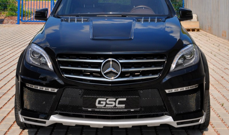 German Special Customs Turns Mercedes-Benz ML into Autobahn Cruise Missile 9