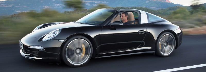 2014 Porsche 911 Targa4 and Targa4S - Roof Animations of 400HP Surf 'n Turf Supercar 1