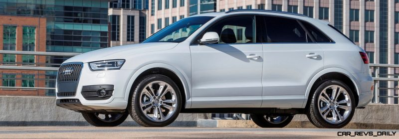 Audi Q3 Looking Classy + Packing Standard 200HP Turbo for U.S. Sales From August 2014 1