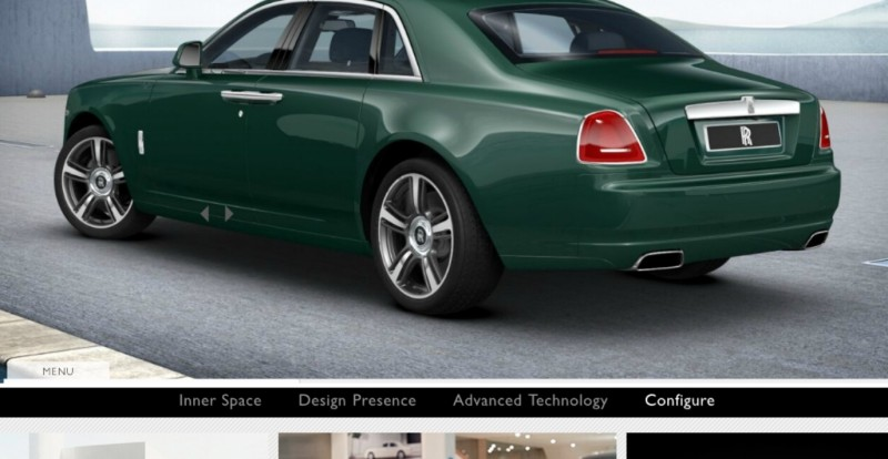 CarRevsDaily.com - 2014 Ghost V-Specification Builder With Exterior and Int Color Samples 47