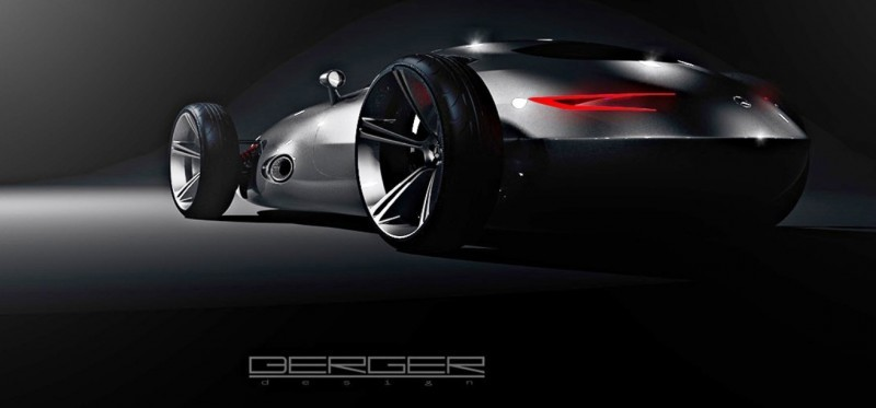 CarRevsDaily.com - Phil Berger Envisions Future Silver Arrow Racer 1