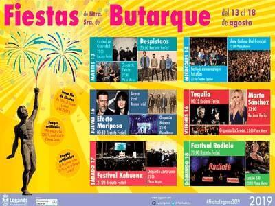 Fiestas Leganes 2019