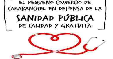 La Asamblea de Carabanchel lanza una campaña solicitando al pequeño comercio apoyo a la sanidad pública