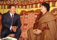 Chavez and Gadhafi