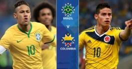 Kolombia Muluskan Langkah Ke Rusia Usai Imbang 1-1 Kontra Brasil