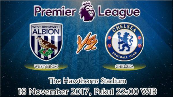 Prediksi West Bromwich vs Chelsea 18 November 2017