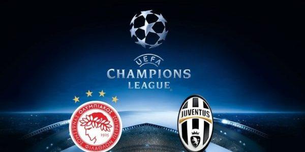 Prediksi Skor Olympiakos vs Juventus 06 Desember 2017