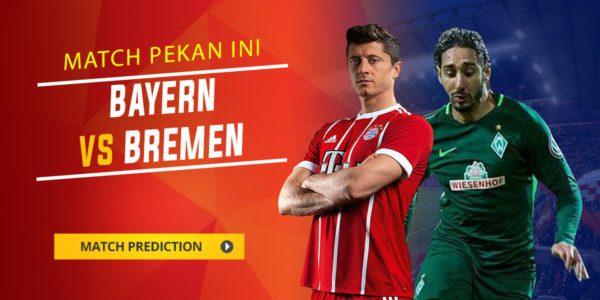 Prediksi Bayern Munich vs Werder Bremen 21 Januari 2018