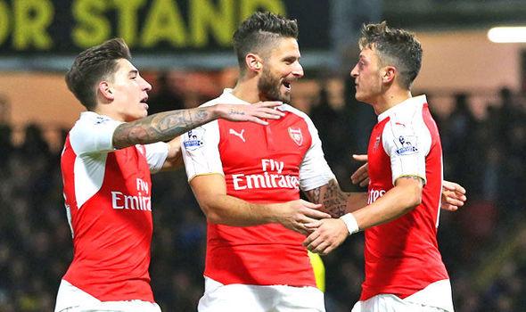 Bellerin Senang Dengan Keputusan Oezil Bertahan di Arsenal