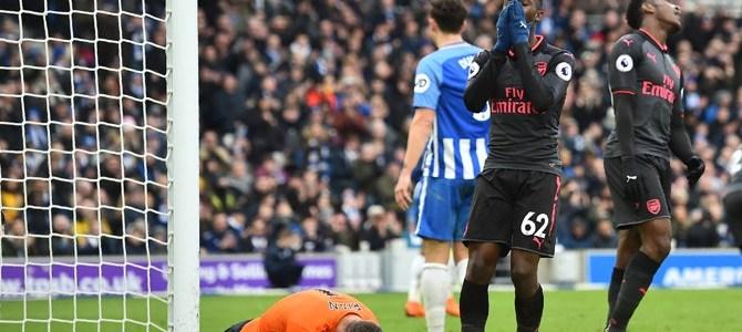 Arsenal Telan Kekalahan 2-1 di Kandang Brighton & Hove Albion